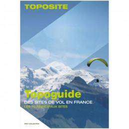 Book - Topoguide des sites de vol en France - The 70 main sites Rid'Air - 1