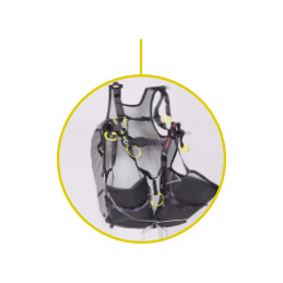 Niviuk Roamer 2 - Light Reversible Harness - Mountain Niviuk - 14
